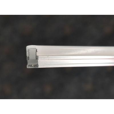 Светодиодный (LED) профиль анодированный с экраном 8х6.5мм