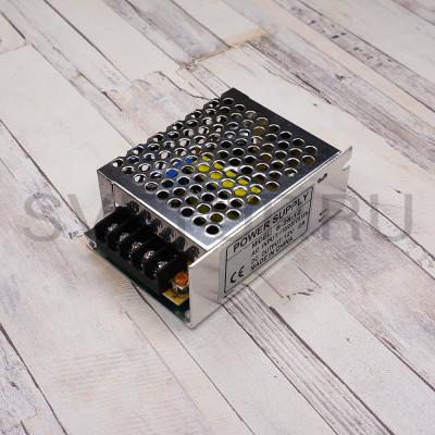 Блок питания  S-25-12 (12В, 1.25А, 15Вт) IP20