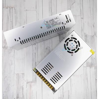 Блок питания S-400-12 IP20 (12В, 33А, 240Вт)