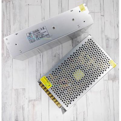 Блок питания S-300-12 IP20 (12В, 25А, 240Вт)