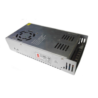 Блок питания T-500-24 (24В, 20.8А, 500Вт) IP20