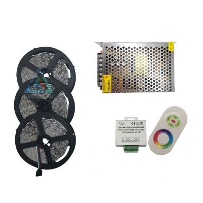 Комплект светодиодной ленты RGB SMD 5050 60 led/m - 15м