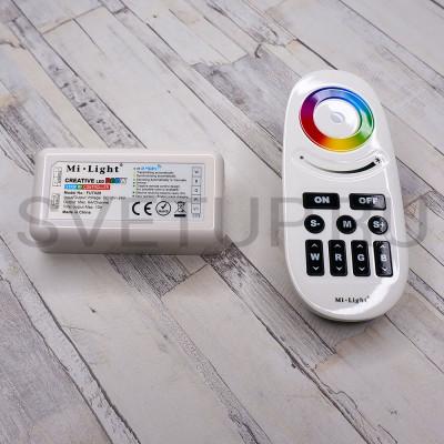 RGBW контроллер с сенсорным пультом FUT028
