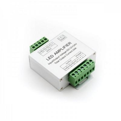 RGBW 4-канальный усилитель CH4 DC 12-24В, 24А