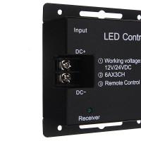 RGB контроллер с сенсорным пультом Wireless RF Touch DC 12-24V 18A