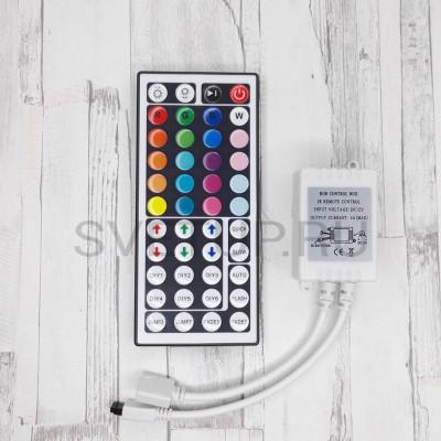 Mini RGB контроллер с пультом 44 кнопок DC 5-24V 6A