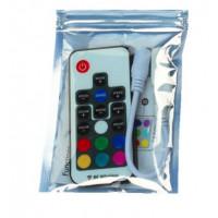 RGB контроллер с пультом 17 кнопок DC 5-24V 12A