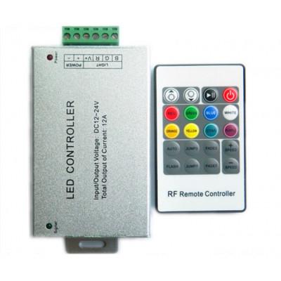 RGB контроллер с пультом 20 кнопок DC 12-24V 12A