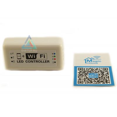 RGB Wi-Fi контроллер DC 12-24V 12A