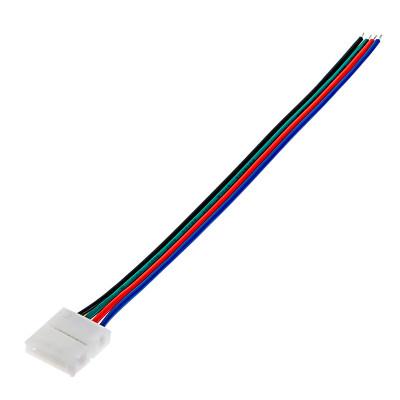 Беспаечный зажим с проводом 4PIN-Wire-10mm