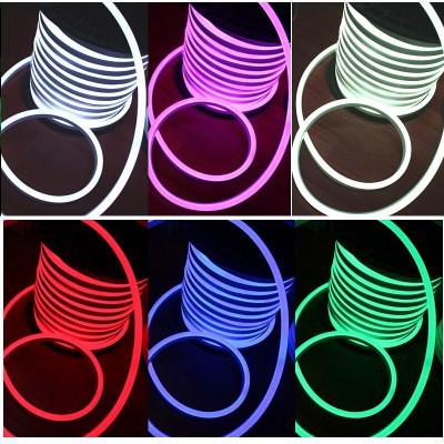Светодиодный неон SMD5050, RGB (Многоцветный), 25x15 мм