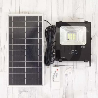 Светодиодный прожектор на солнечной батареи HX-B20W