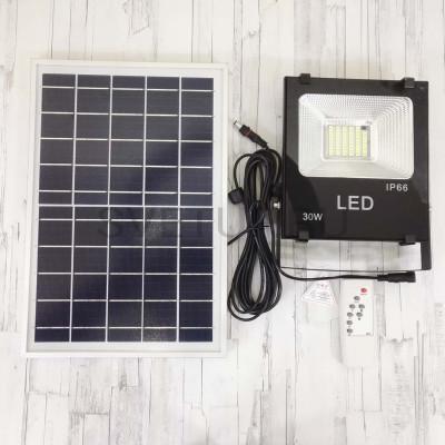 Светодиодный прожектор на солнечной батареи HX-B30W