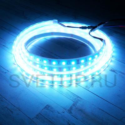 Светодиодная лента SMD 5050 RGB (Многоцветная) 60 led/m 12V IP67 (Влагозащищённая)