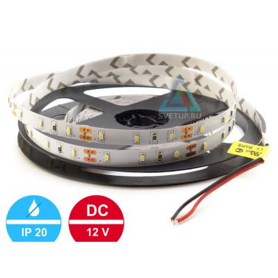 Светодиодная лента SMD 3014 60 led/m 12V IP33 (Открытая)