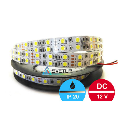 Широкая светодиодная лента SMD 5050 120 led/m12V IP33 (Открытая)