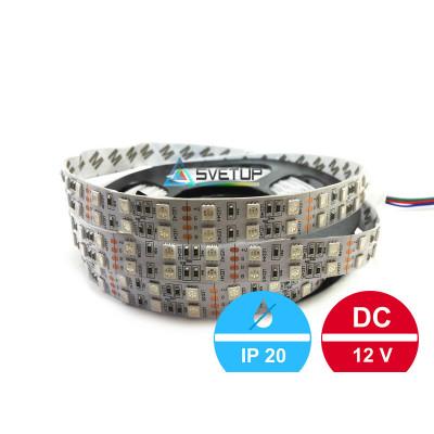 Широкая светодиодная лента SMD 5050 RGB (Многоцветная) 120 led/m12V IP33 (Открытая)