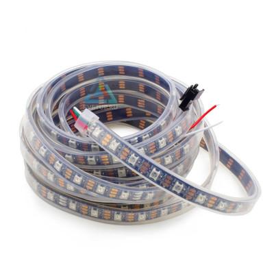 SPI Светодиодная лента WS2812B SMD 5050 RGB 60 led/m 5V IP67 (Защита от воды)