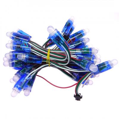 Светодиодный пиксель WS2811, 5V, IP65, F12мм