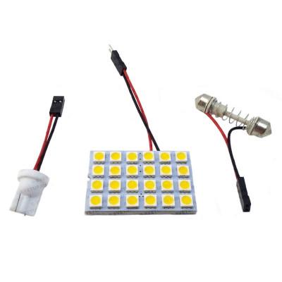 Светодиодный модуль для подсветки салона 24 LED SMD 5050