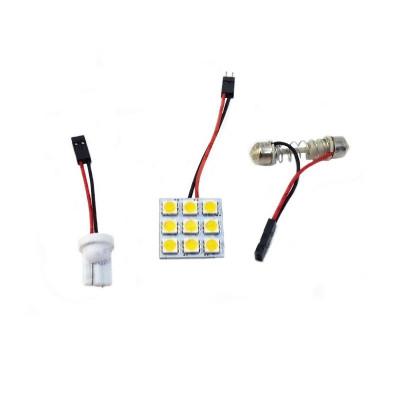 Светодиодный модуль для подсветки салона 9 LED SMD 5050