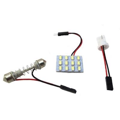Светодиодный модуль для подсветки салона 12 LED SMD 5630
