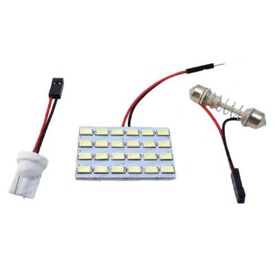 Светодиодный модуль для подсветки салона 24 LED SMD 5630